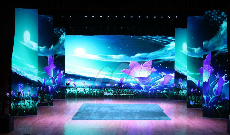 LED Display Solution for Stage Rental